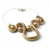 Collana Spirale dorata